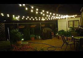 Outdoor Lighting Images by Amazon Com 25ft G40 Globe String Light With 25 Clear Bulbs