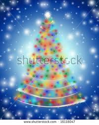tree by white stock illustration 16118047