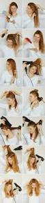hairstyles step by step for medium length hair how to blow dry your hair like a hair stylist a cup of jo