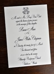 Traditional Wedding Invitations Wedding Invitations Traditional Wiregrass Weddings