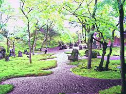 deluxe zen gardens garden wallpaper new home rule japanese path
