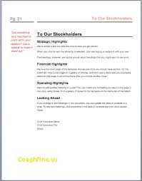 annual report word template unique one page annual report template free template
