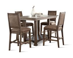 stonebrook island table with 4 counterstools hom furniture