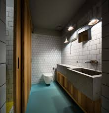 Industrial Style Bathroom A Green Kiev Apartment Provides Calm In The City Nonagon Style