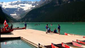 Houseboat Rentals Los Angeles Rent A Boat On Lake Louise In Banff National Park Youtube