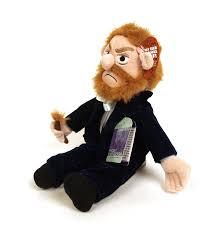 amazon com vincent van gogh little thinker plush doll toys