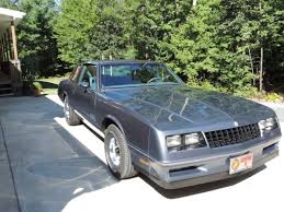 84 Monte Carlo Ss Interior 1984 Monte Carlo Ss For Sale Photos Technical Specifications