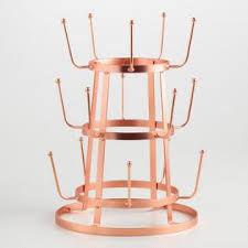 wire 3 tier glass drying rack world market
