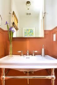 31 best orange bathroom images on pinterest bathroom ideas
