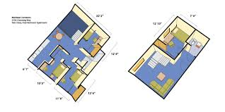 Apartment Blueprints Maximino Martinez Commons Housing