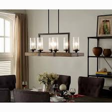Linear Chandelier Dining Room Amazing Linear Chandelier Dining Room Wallpaper Home Decoration