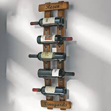 metal wall mount wine bottle rack efficiency by using wall mount