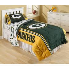 Green Bay Packers Bedding Set This Green Bay Packers Bedding Set By The Northwest Company