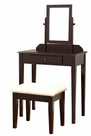 Linon Home Decor Vanity Set With Butterfly Bench Black by Teak Wood Table Set With Chairs Outdoor Furniture By Gappsi Teak