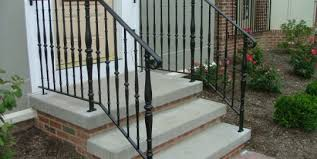 Porch Steps Handrail Stoop And Step Railings Archives Finelli Ironworks