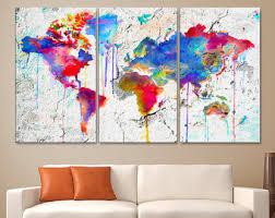 large 30x 60 3 panels art canvas print original