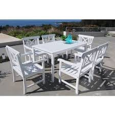White Outdoor Dining Chairs White Outdoor Dining Sets For Less Overstock Com