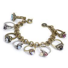 antique charm bracelet images Antique style rings charm bracelet vintage bracelets sweet romance jpg