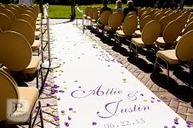 personalized aisle runner chic unique inc custom aisle runners unique services