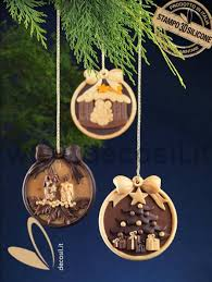 candles ornament silicone mould pendant