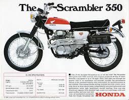 vintage honda honda cl350 history