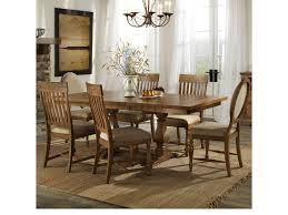 dining room trestle table belfort select loudoun crossing dining trestle table and chair set