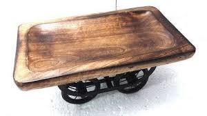 carts platters wooden cart platter manufacturer from moradabad