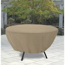 Classic Accessories Patio Furniture Covers - classic accessories terrazzo round patio table cover all weather