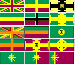 Green White And Yellow Flag Wi No Countries Could Use Red White Or Blue In Their Flags