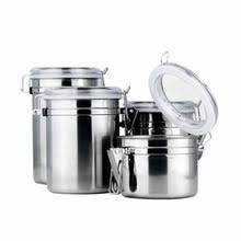 kitchen canisters stainless steel popular metal kitchen canisters buy cheap metal kitchen canisters