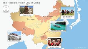 top places to travel in july in china where to go in july in china