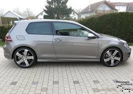 volkswagen grey 3 door limestone grey pic vw golf r mk7 chat vw r owners club