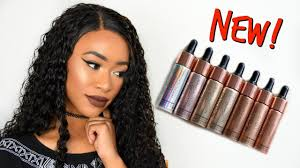 new liquid highlighters swatches u0026 demo youtube