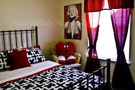 Black And White And Red Bedroom - apartments endearing samples for black white and red bedroom