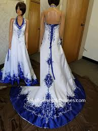 blue wedding dress colorful bridal gowns color accents bridal gown