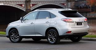 lexus rx redesign years 2012 lexus rx 270 rx 350 rx 450h launched in australia