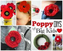 remembrance day activities red ted art u0027s blog