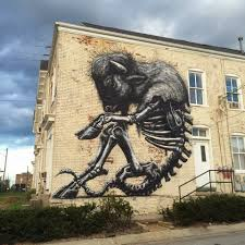 10 street artists you should know that crush the urban street art roa street artist prhbtn festival xray street art