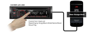 connect android to car stereo usb jvc mobile entertainment original applications software