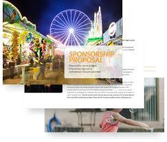 sponsorship proposal template free sample