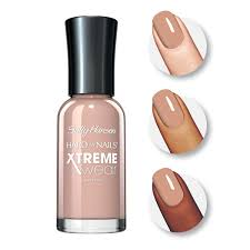 amazon com sally hansen hard as nails xtreme wear bare it all