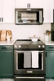 matte black appliances elsie u0027s nashville bnb kitchen tour before after u2013 a beautiful mess