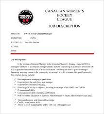 11 general manager job description templates u2013 free sample