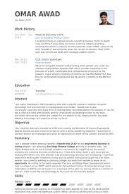 fancy design ideas medical records resume 7 medical records clerk