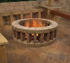 plain decoration outdoor fire ring magnificent 1000 ideas about