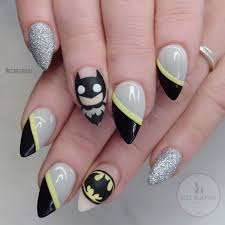 superman has nothing on this nail art design by getbuffednails
