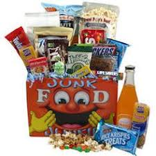 Junk Food Gift Baskets Junk Food Care Package Super Bubbles Laffy Taffy And Chips Ahoy