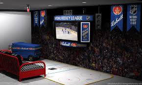 Hockey Scoreboard Light Fixture The Hockey Pad Of My Dreams Dave S Geeky Hockey