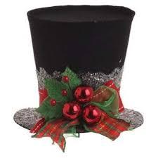 spectacular top hat decorations raz black decoration