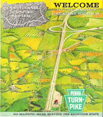 Pa State Game Lands Maps by 1950 U0027s Pennsylvania State Road Maps